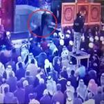 شاهد .. لحظة الاعتداء على ممثل السيستاني في كربلاء