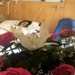 بالصور : علا الفارس في غرفة العمليات… وتطلب الدعاء لها !