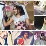 """شاهد .. الفنانة الكويتية """"فرح الهادي"""" تنشر صور حفل زفافها .. وتوجه رسالة لزوجها"""