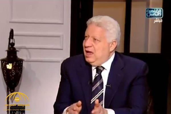 بالفيديو : مرتضى منصور يكشف عن أول مسؤول سيقيله من منصبه حال فوزه بالرئاسة