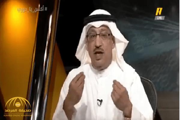 """فيديو .. """" جمال عارف """" : الهلال فلت من الخمسة ..  ومغرد : أنت غلطة إعلامية انتهى تاريخها!"""