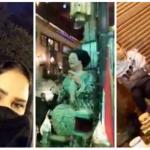 """شاهد الفنانة أحلام تتجول """"متنكرة"""" في حي الحسين بالقاهرة .. فهل عرفها الجمهور؟"""
