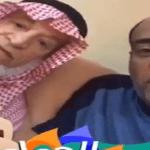 """شاهد .. هكذا مزح """"وليد الفراج"""" مع والده عن النصر !"""