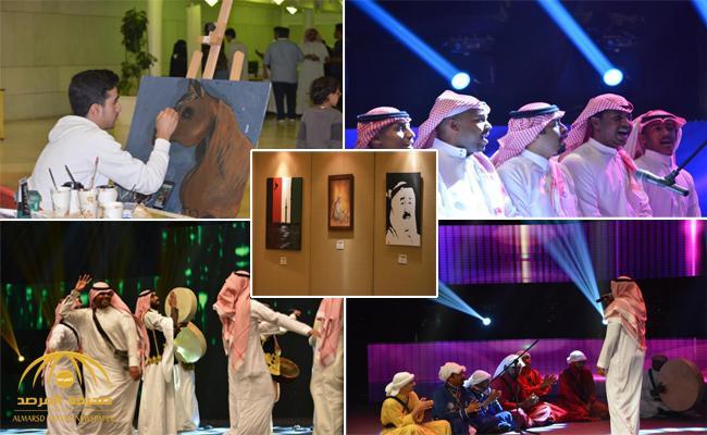 بالصور .. وزارة الثقافة والإعلام السعودية تحتفل  باليوم الوطني للكويت