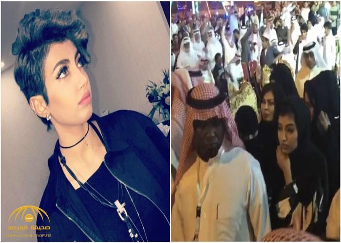 """شاهد: زيارة الإعلامية """"أريج العبد الله"""" لـ """"المجاردة"""" تثير استياء النشطاء.. ماذا فعلت النساء حول مركبتها"""