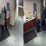 شاهد .. لحظة اعتداء شخص على فتاة مسلمة داخل مستشفى بأمريكا