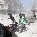 31 قتيلا  بينهم 6 أطفال  وأكثر من 100 جريح في ضربات جوية روسية على الغوطة الشرقية