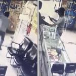بطريقة غير متوقعة.. شاهد: لص يخدع بائع ويسرق جوال أمام عينيه في الكويت