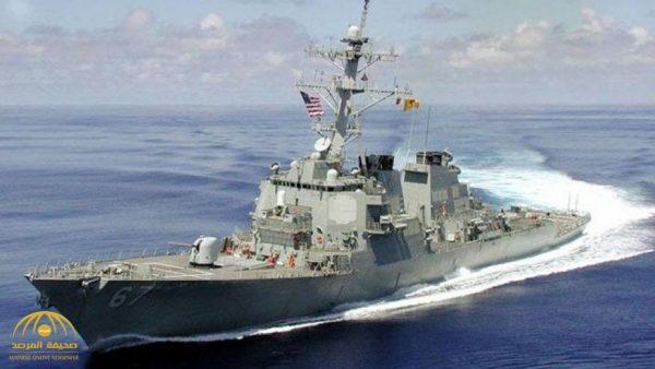 مدمرة أمريكية مزودة بـ60 صاروخاً مجنحاً تقترب من ميناء طرطوس السوري