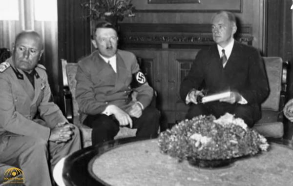 """ما هو """"اتفاق 1938"""" الذي تسبب بحرب عالمية وحذر """"ولي العهد"""" من تكراره"""