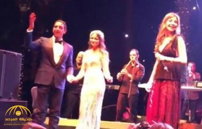شاهد: حفل زفاف أسطوري لابن هشام طلعت المتّهم بقتل سوزان تميم