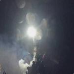 صواريخ يرجح أنها أميركية تستهدف مطار التيفور بريف حمص