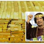 بالصور .. العثور على كنوز القذافي مدفونه في صحراء بجنوب ليبيا