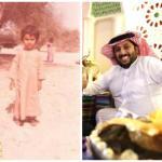 شاهد .. آل الشيخ يُفاجئ «ماجد النفيعي» على «تويتر» وينشر صورته طفلاً .. والأخير يرد .. وتفاعل بين النشطاء