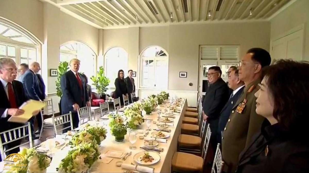 تعرف على قائمة المأكولات على طاولة غداء ترامب وكيم في سنغافورة