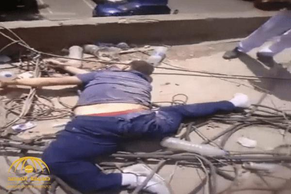 فيديو مروع.. طالب مصري ينتحر بإلقاء نفسه من فوق برج القاهرة.. والتحقيقات تكشف السبب!