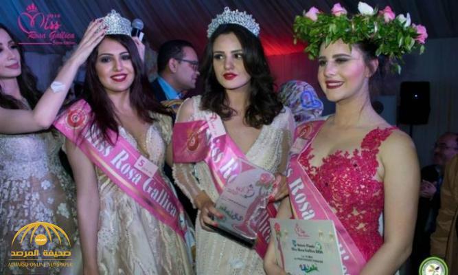 شاهد .. أول ظهور لسوار الحكيمي ملكة جمال الورد بتونس بعدما توجت باللقب