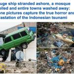 """صور جديدة  ..شاهد  حجم الدمار الهائل الذي أحدثه """"تسونامي"""" في إندونيسيا"""
