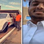 """شاهد بالفيديو .. يزيد الراجحي يفاجئ صديقه """"وليد الدواس"""" ويهديه سيارة """"بنتلي"""""""