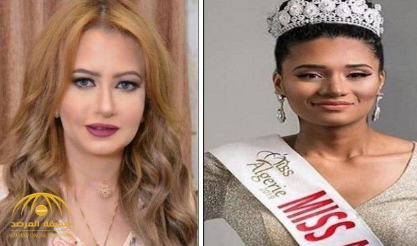 """بالفيديو: ملكة جمال الجزائر تخرج عن صمتها وترد على الكويتية """"مي العيدان"""" بعدما وصفتها الأخيرة بالإثيوبية!"""