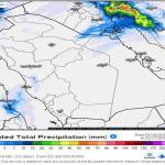 رياح وأتربة وأمطار وثلوج .. تعرف على الحالة المناخية بالمملكة خلال الـ 24 ساعة المقبلة