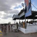 شاهد .. اللحظات الأولى لتفجير قاعدة العند جنوب اليمن خلال عرض عسكري