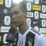 """شاهد بالفيديو.. """"رونالدو"""" يتحدث عن أجواء السعودية بعد الفوز بالسوبر الإيطالي.. وهكذا وصفها!"""