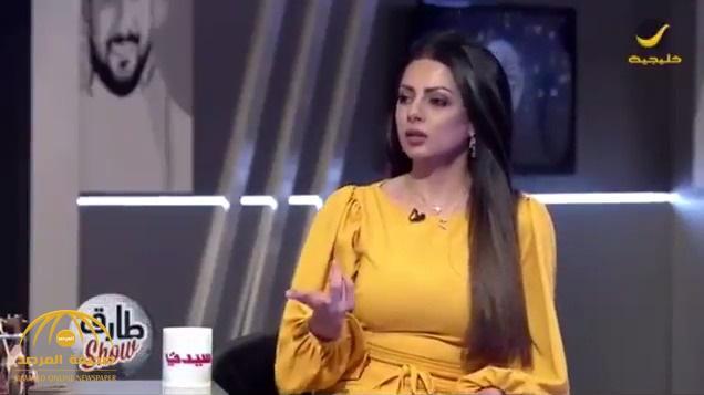 """بالفيديو : """"رؤى ريان"""" تكشف سبب استبدالها في حفل عيد الفطر بـ """"مهيرة عبدالعزيز"""" .. وعلاقة """"راشد الماجد"""" بذلك"""