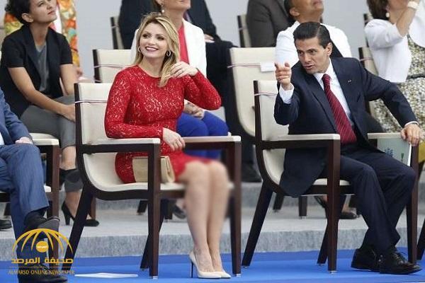 بعد انتهاء حكمه .. زوجة رئيس سابق تطلب الطلاق ! – صور