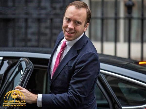 إصابة وزير الصحة البريطاني بفيروس كورونا
