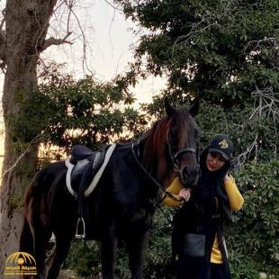 "Last image of ""Zainab Al Askari"" while riding a horse • Al Marsad Newspaper"