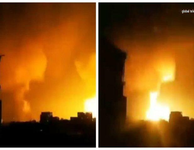"""شاهد.. إسرائيل تبدأ عملية اجتياح برية لغزة  وسط قصف مكثف على """"بيت حانون"""""""