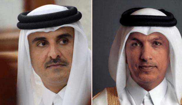"""بعد ساعات من القبض عليه.. أمير قطر يصدر أمرًا بشأن """"وزير المالية"""""""