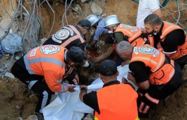 ارتفاع عدد ضحايا القصف الإسرائيلي على غزة إلى 119 قتيلا بينهم 31 طفلا و19 سيدة و830 مصابا
