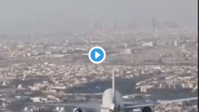 """Photo of بالفيديو… حقيقة الموكب الملكي """"المهيب"""" الذي حلق في سماء الرياض"""