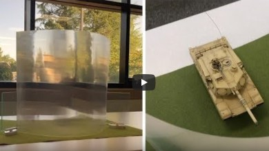 Photo of بالفيديو.. تطوير ثوري لمادة شفافة لإخفاء الأشياء
