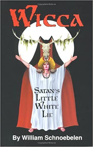"""غلاف كتاب """"الويكا: الكذبة البيضاء الصغيرة للشيطان"""""""