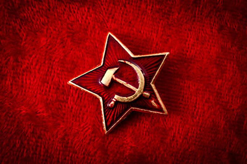 شعار الاتحاد السوفييتي متبني الإلحاد
