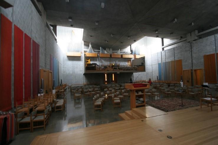 التصميم الداخلي لكنيسة الموحدة في روتشسترللويس كان