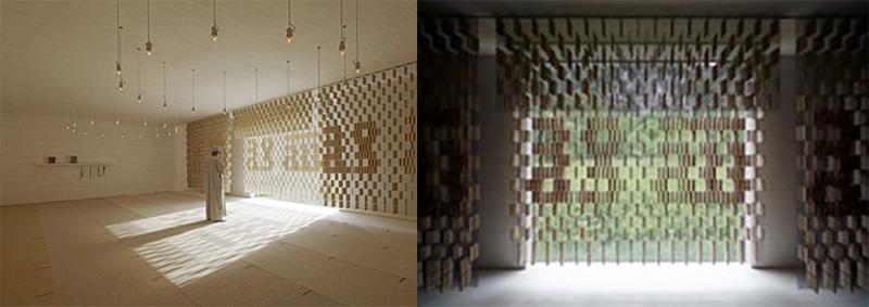 الضوء والظل في تصميم مصلى تابع للمقبرة الإسلامية في النمسا