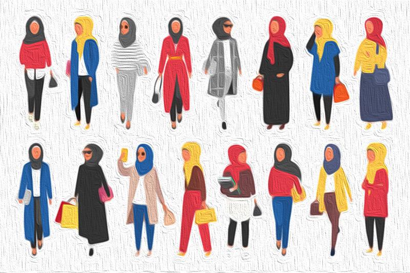 الحجاب المعاصر