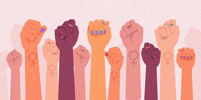 النسوية كرمز