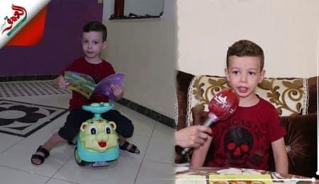طفل يتحدث بلغة عربية فصيحة