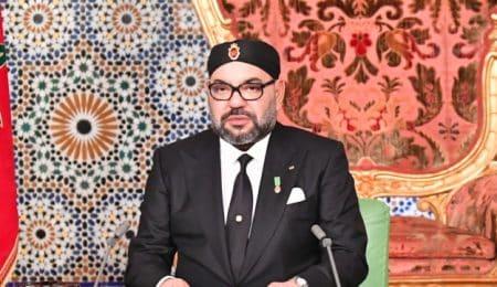Sa Majesté le Roi Mohammed VI adresse un discours à la Nation à l'occasion du 44 ème anniversaire de la Marche Verte. 06112019 - Rabat