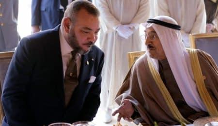 الملك وأمير الكويت