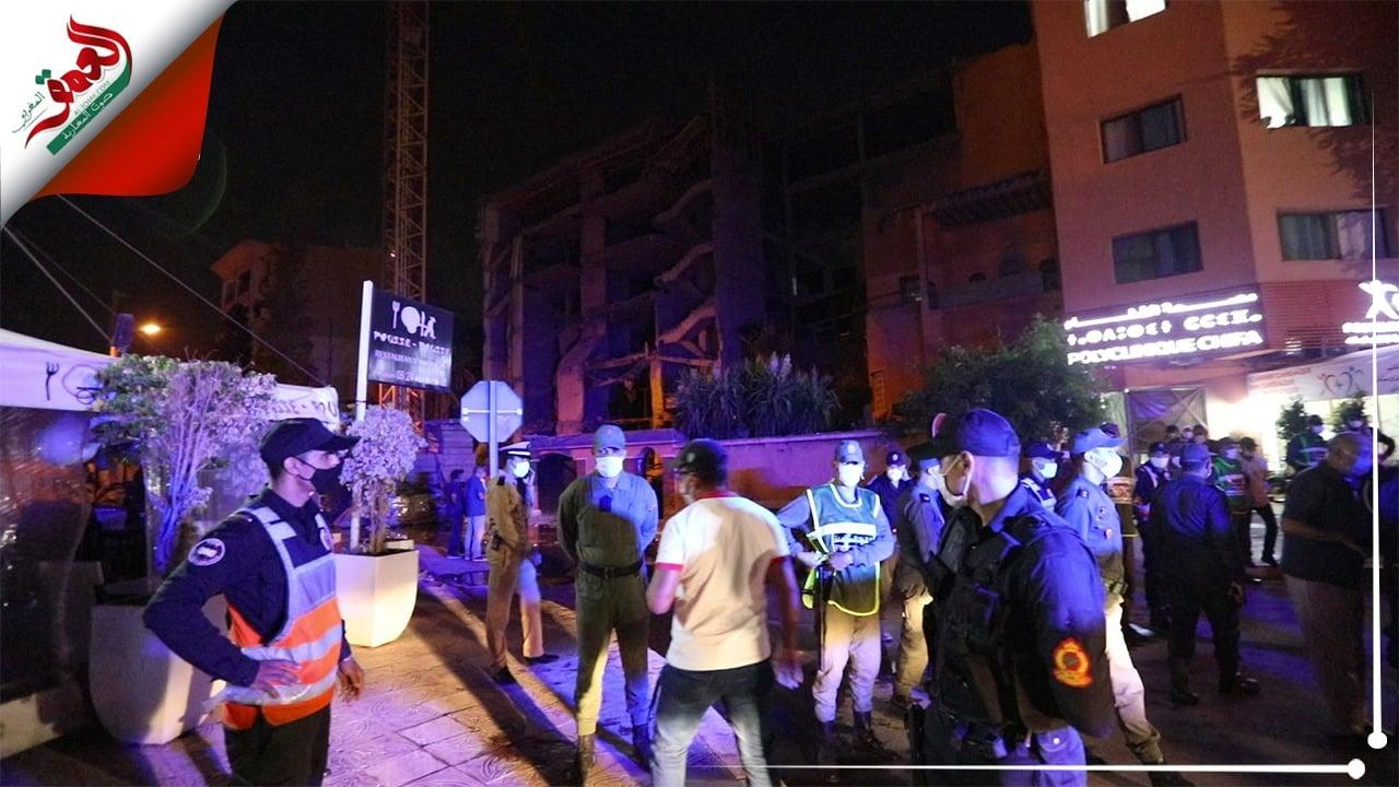 مواصلة البحث عن مفقودين تحت أنقاض العمارة المنهارة بمراكش