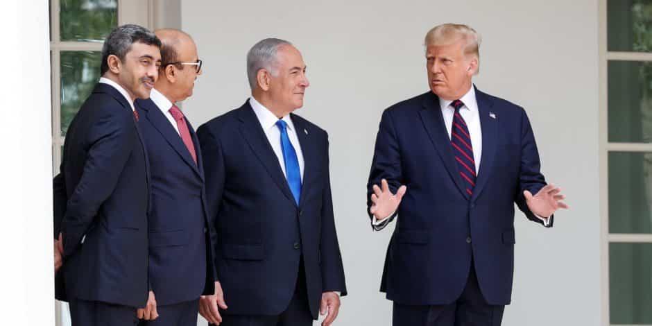 ترامب يترأس توقيع اتفاقي تطبيع بين اسرائيل وكل من الامارات والبحرين