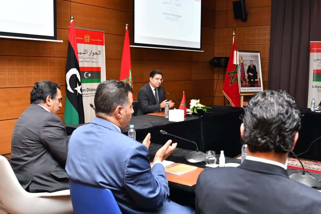 اجتماع أطراف الحوار الليبي بالمغر