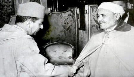 عبد الكريم الخطابي، والملك محمد الخامس