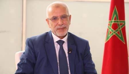 نائب الأمين العام لحزب العدالة والتنمية سليمان العمراني